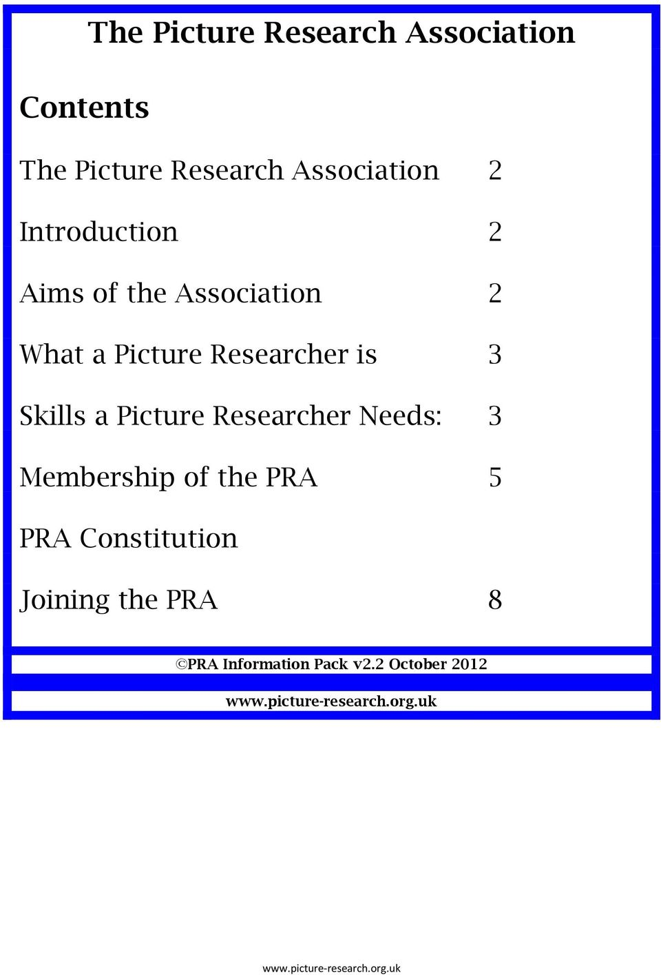 Researcher is 3 Skills a Picture Researcher Needs: 3 Membership of the