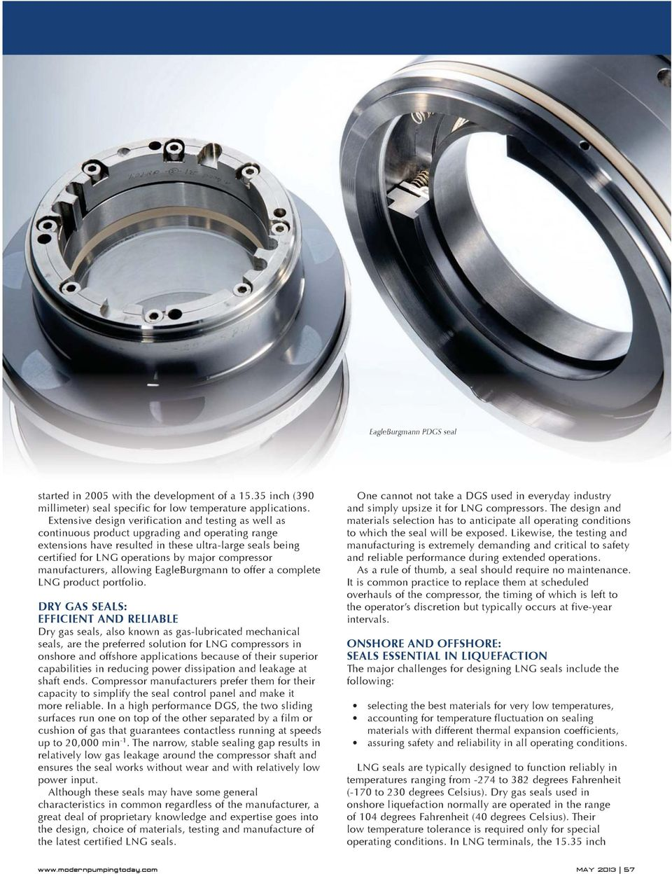 Dry Gas Seals for LNG Compressors - PDF