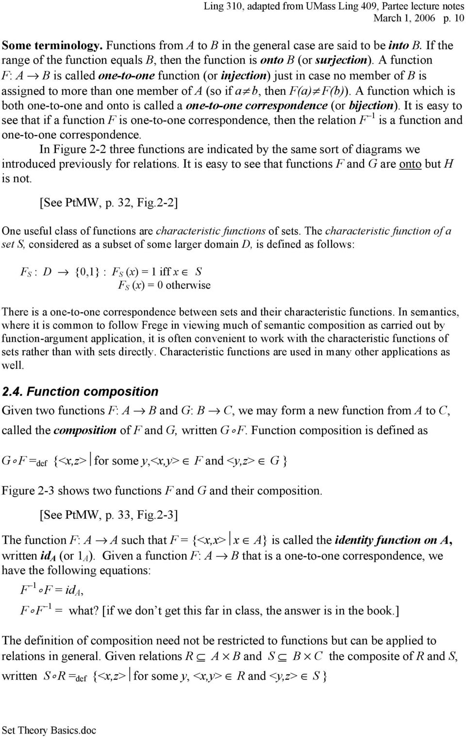 Basic Concepts of Set Theory, Functions and Relations - PDF