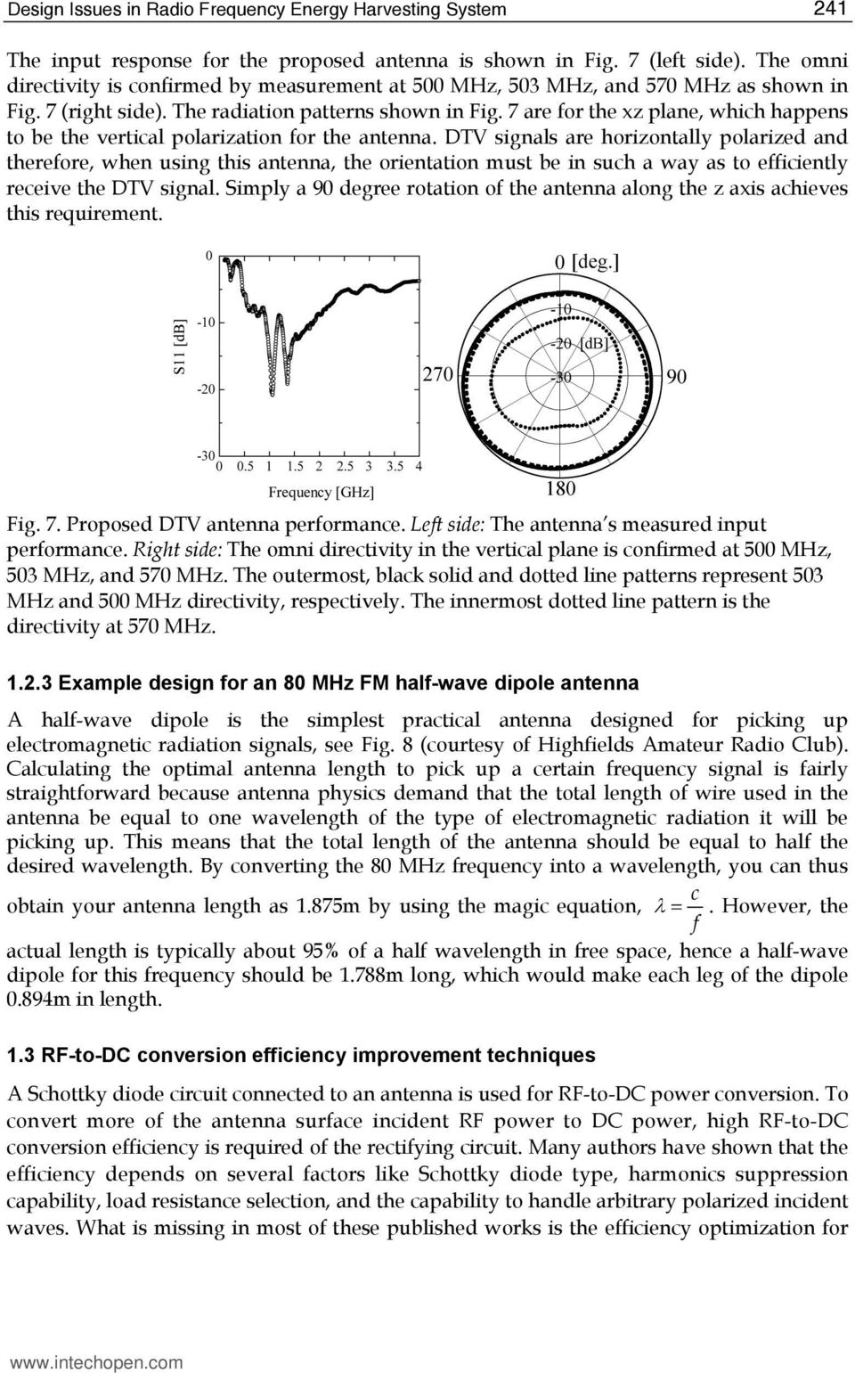 Design Issues in Radio Frequency Energy Harvesting System - PDF