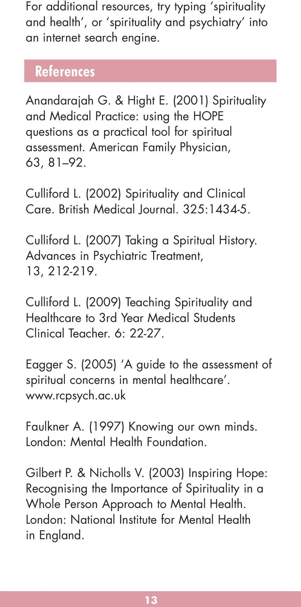 Spirituality And Mental Health Pdf
