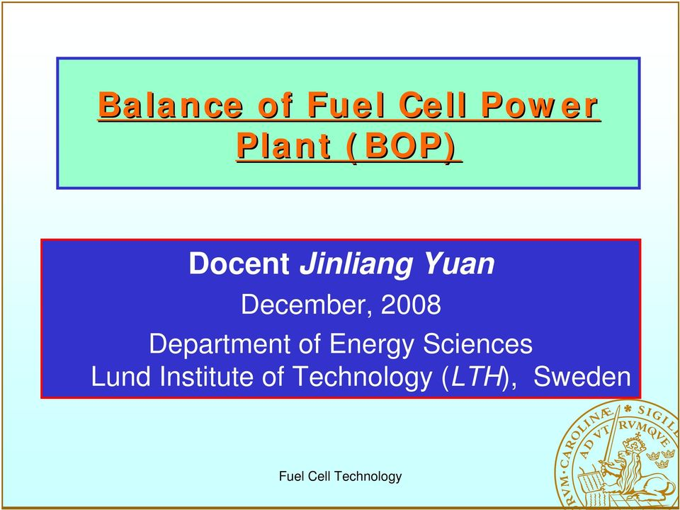 2008 Department of Energy Sciences