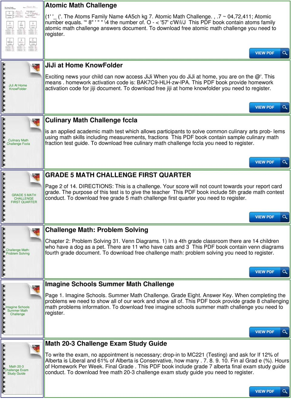 St math jiji answers for challenge help pdf to download free atomic math challenge you need to jiji at home knowfolder jiji at home fandeluxe Choice Image
