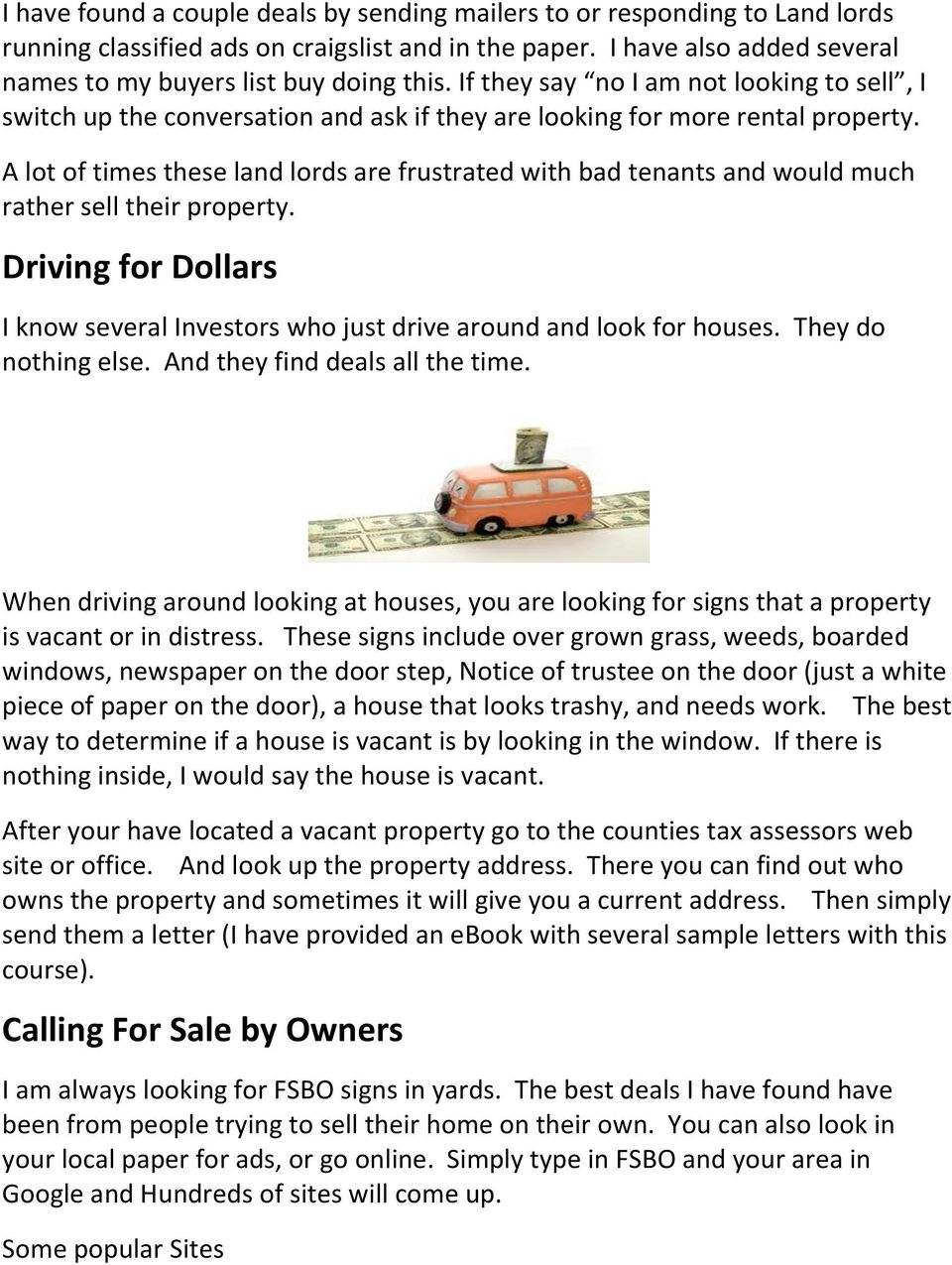 New Real Estate Investor Training - PDF