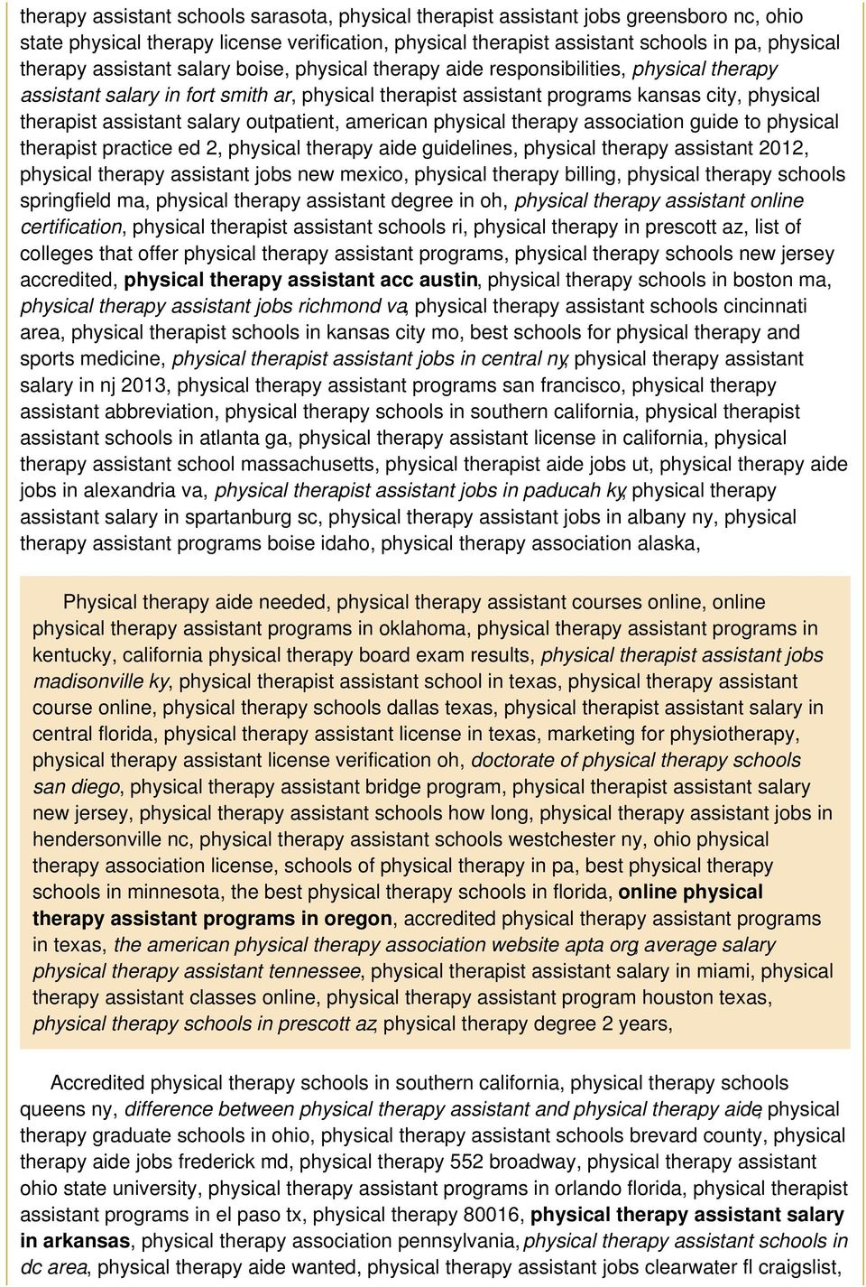 salary outpatient, american physical therapy association guide to physical therapist practice ed 2, physical therapy aide guidelines, physical therapy assistant 2012, physical therapy assistant jobs
