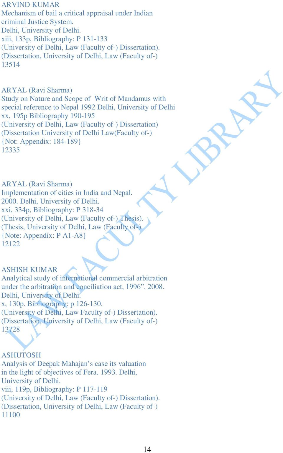 THESES AND DISSERTATIONS IN ALPHABETICAL ORDER - PDF