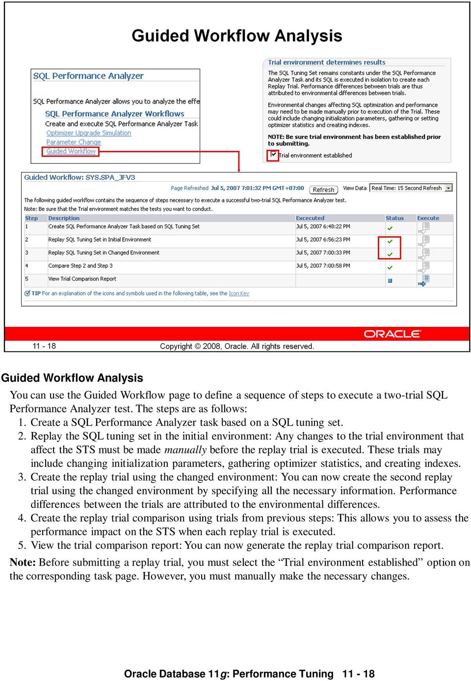 Performance pdf techniques database tips oracle 11g tuning &