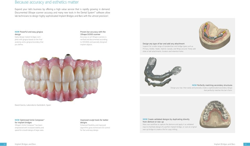 Dental System  Innovative 3D scanning and CAD solutions - PDF