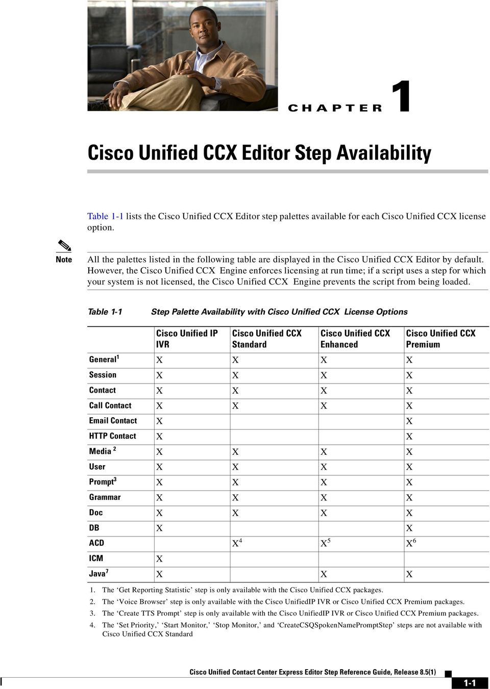 Cisco Unified Contact Center Express Editor Step Reference Guide