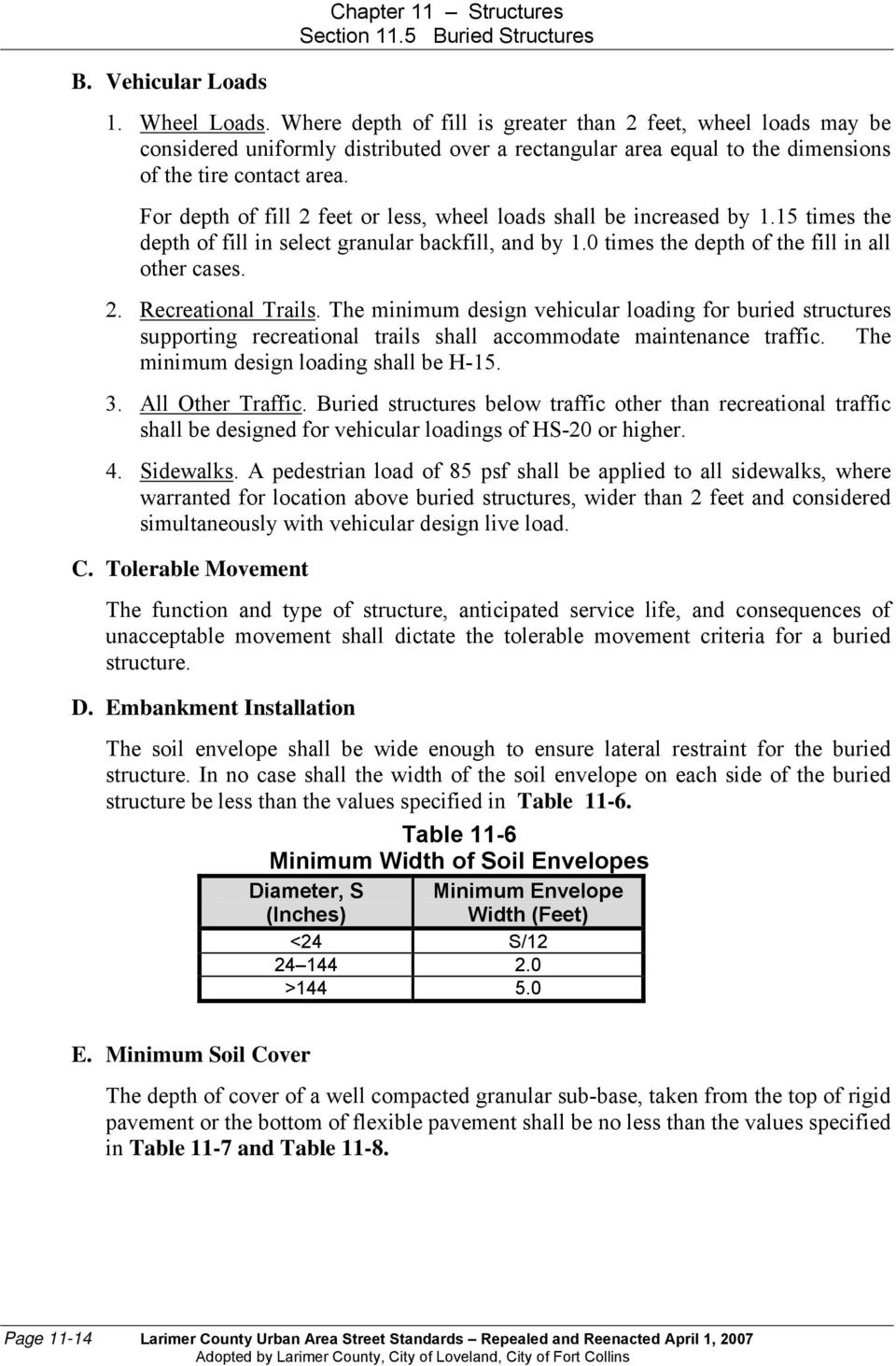 CHAPTER 11 STRUCTURES TABLE OF CONTENTS - PDF