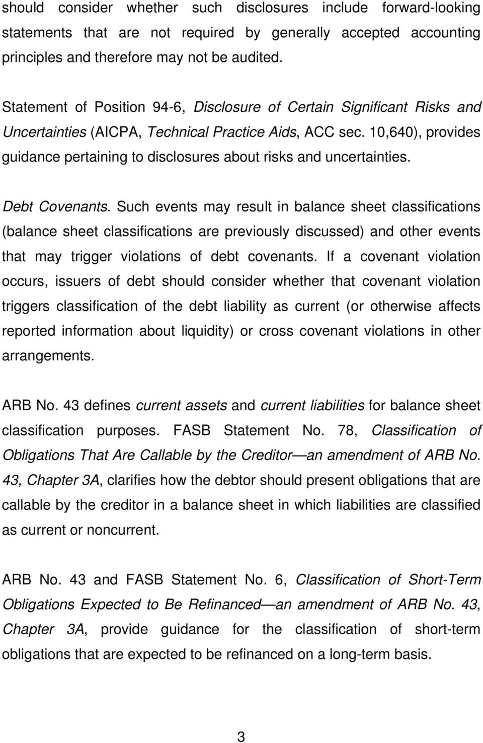 TIS Section 1100 Statement of Financial Position - PDF