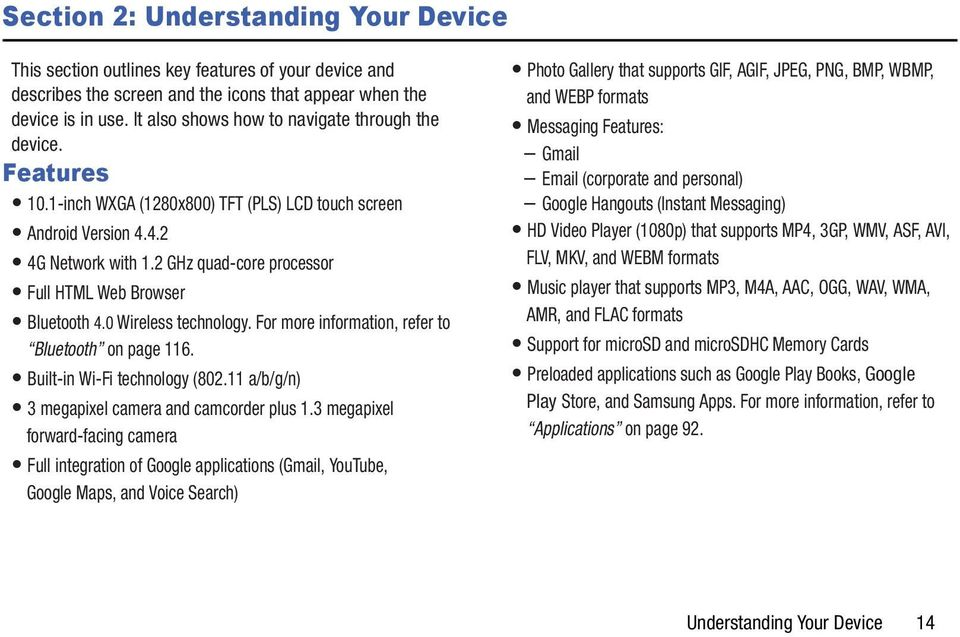 User Manual Please read this manual before operating your tablet