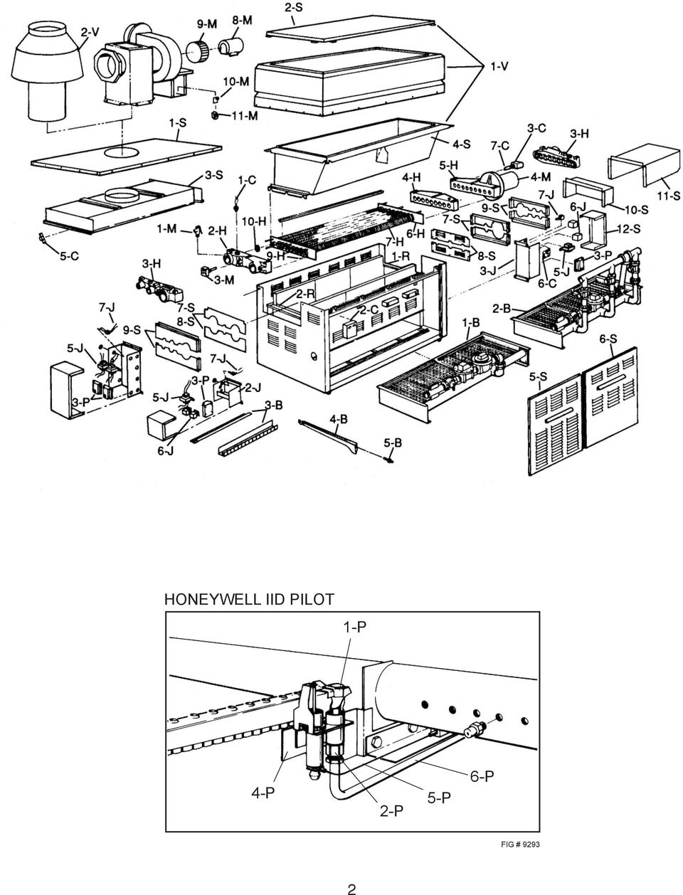 Raypak Replacement Parts Pdf Iid Wiring Diagram 1 P 4 5