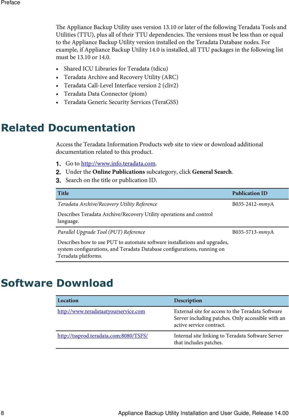 appliance backup utility installation and user guide release b a rh docplayer net Ataaps Users Reference Manual Instruction Manual