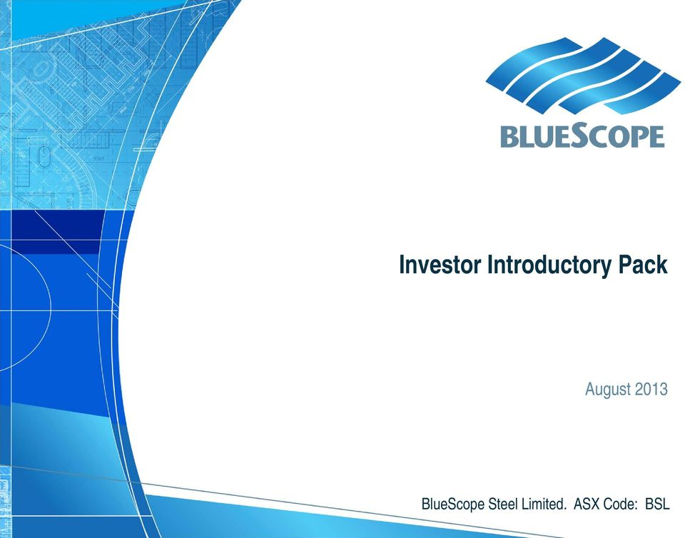 Investor Introductory Pack - PDF
