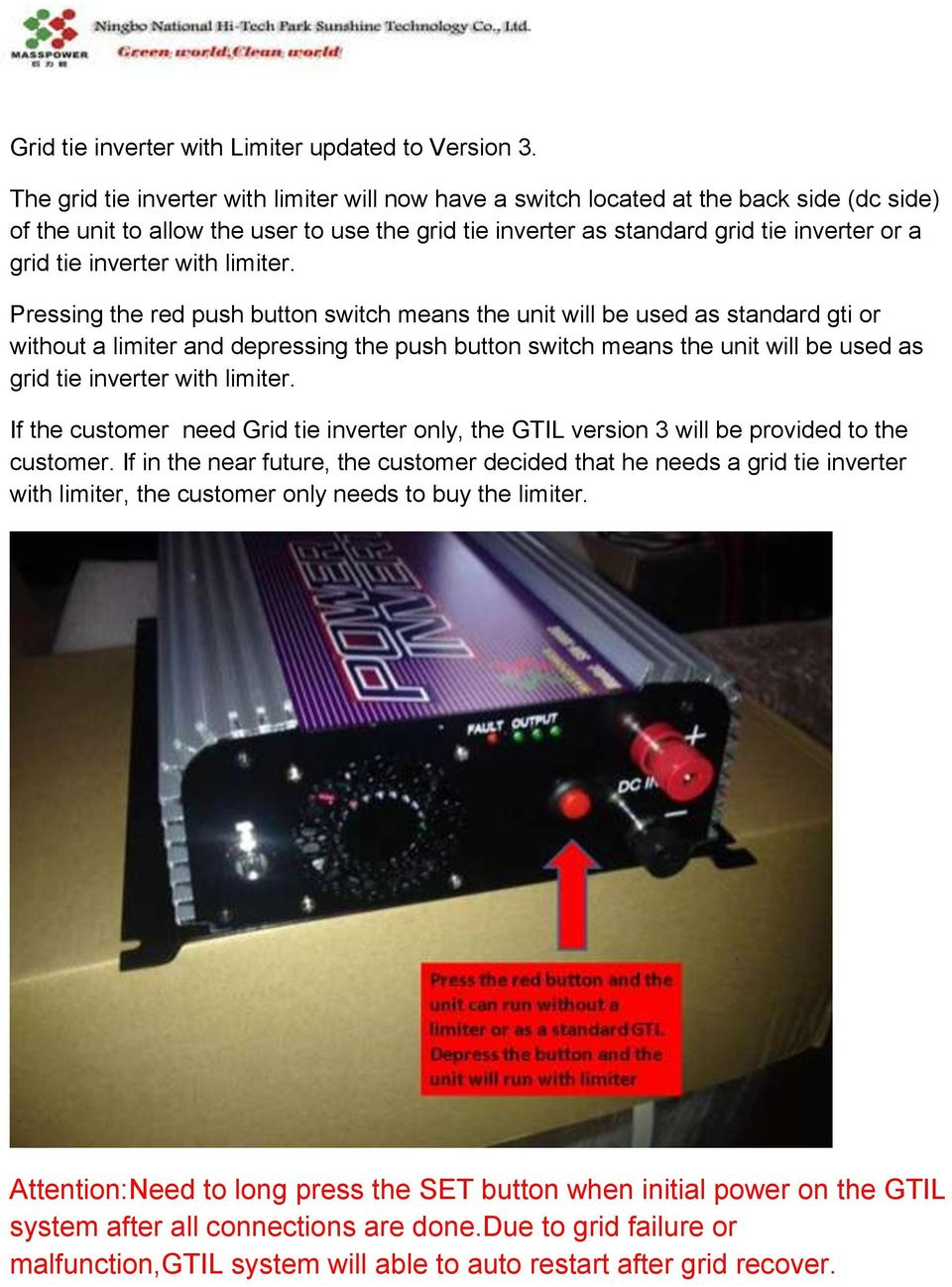 User Manual Of Grid Tie Inverter With Limiter Pdf Dc Converter Further Circuits Gt 15w Circuit 12vdc To 120vac