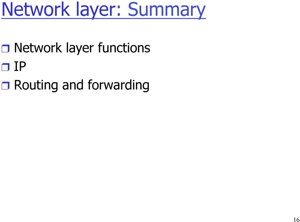 layer functions IP
