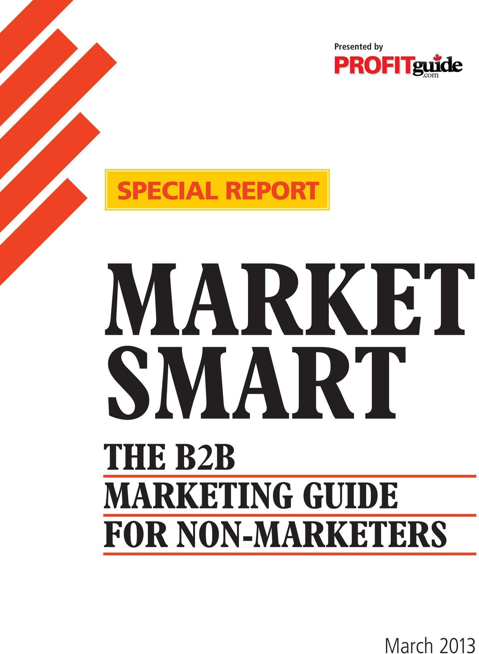 B2B MARKETING GUIDE FOR