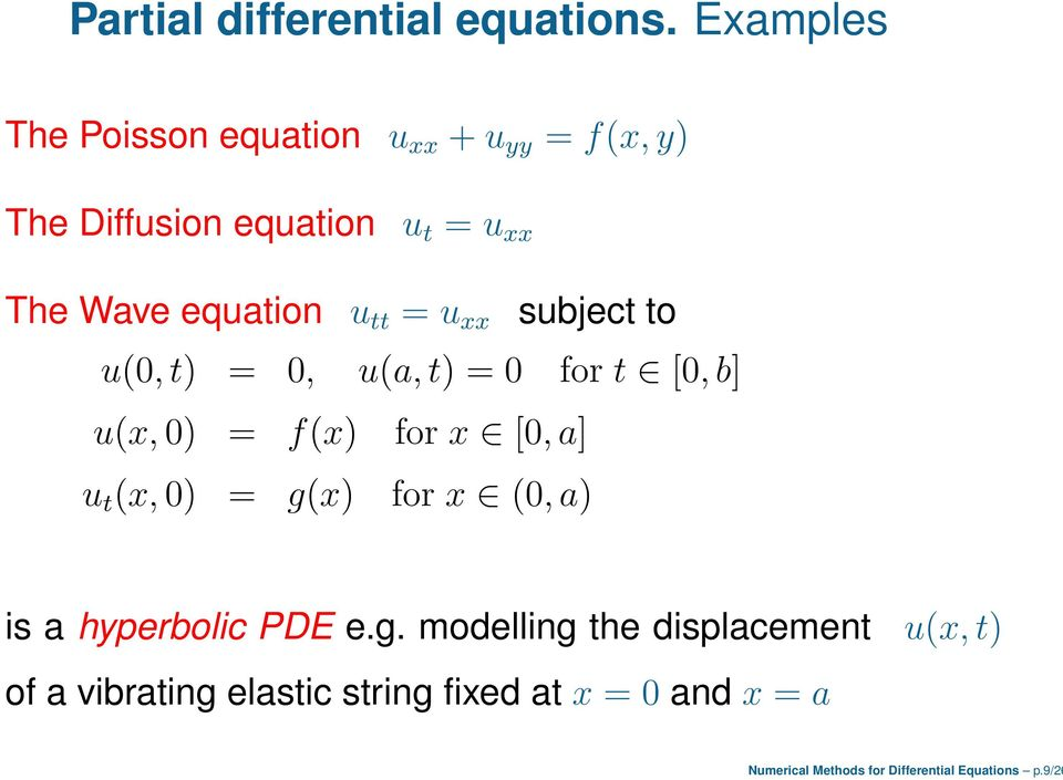 Numerical Methods for Differential Equations - PDF