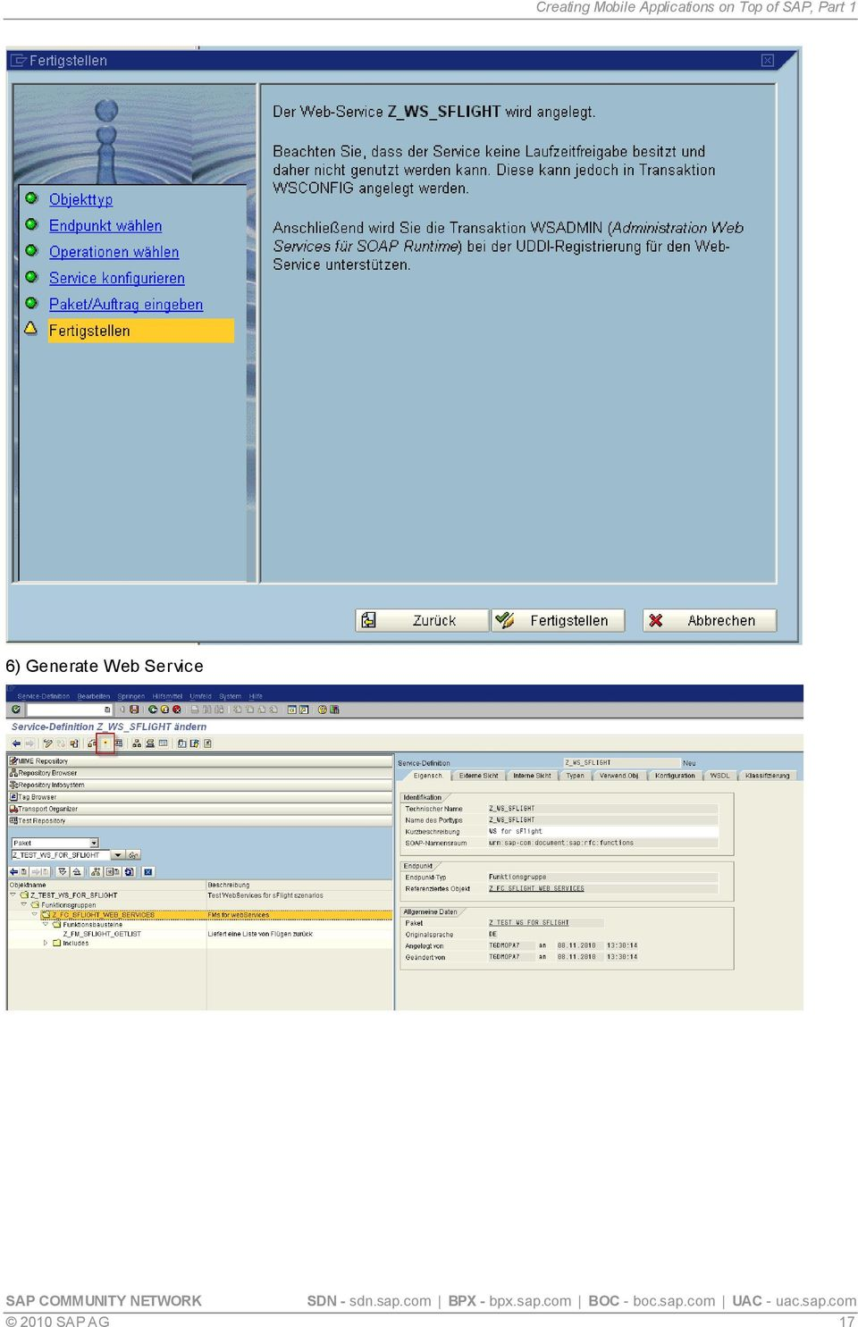 Creating Mobile Applications on Top of SAP, Part 1 - PDF