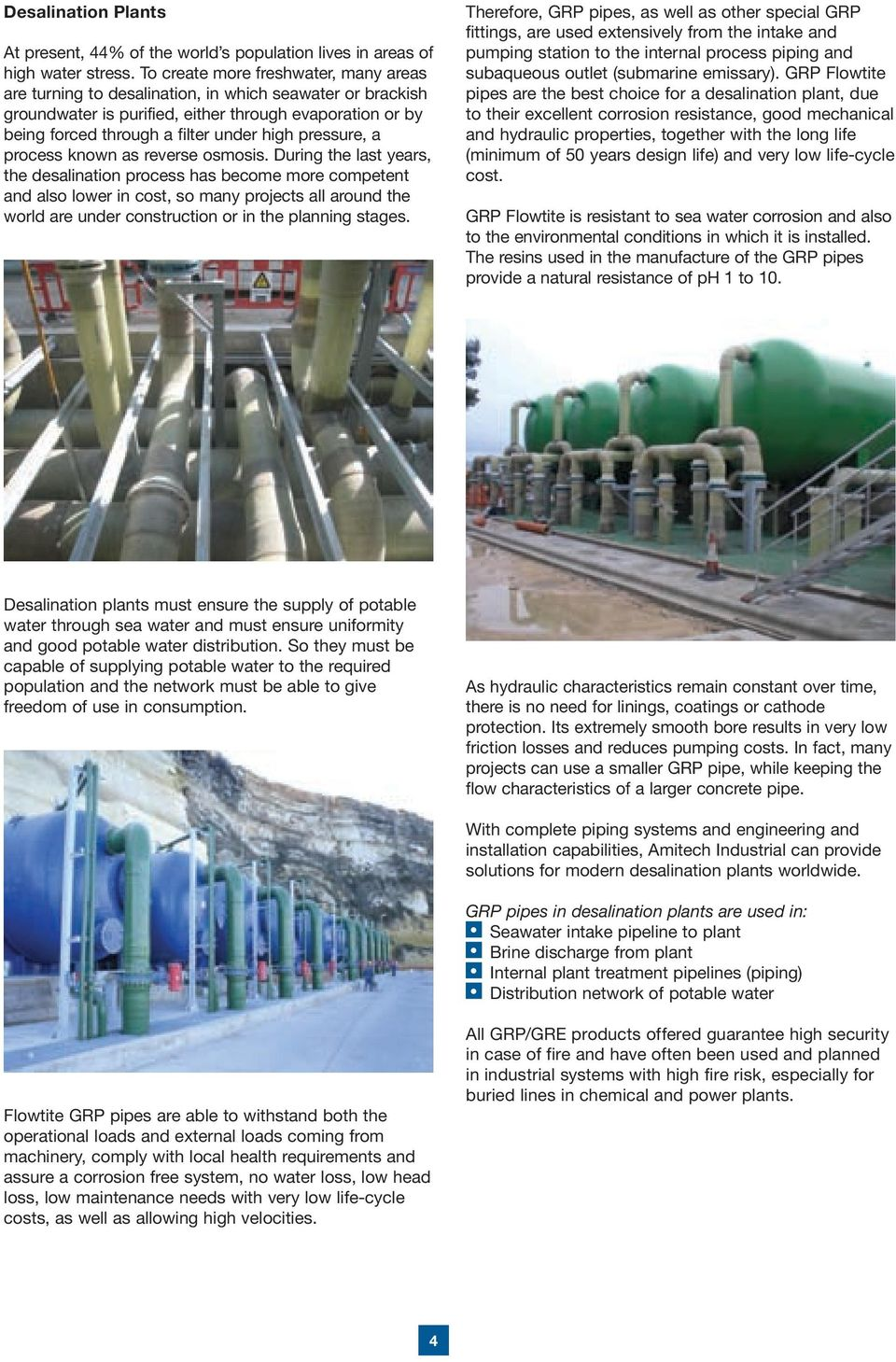 Glass Fibre Reinforced Products  for Industrial Applications - PDF