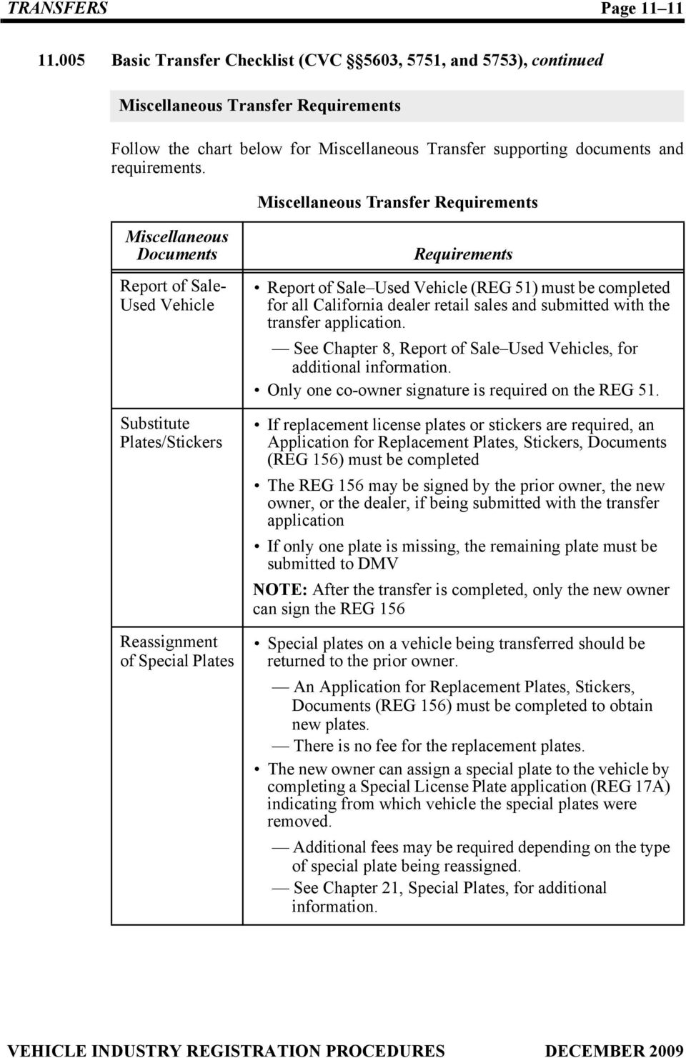 Vehicle Vessel Transfer And Reassignment Form Reg 262 Pdf