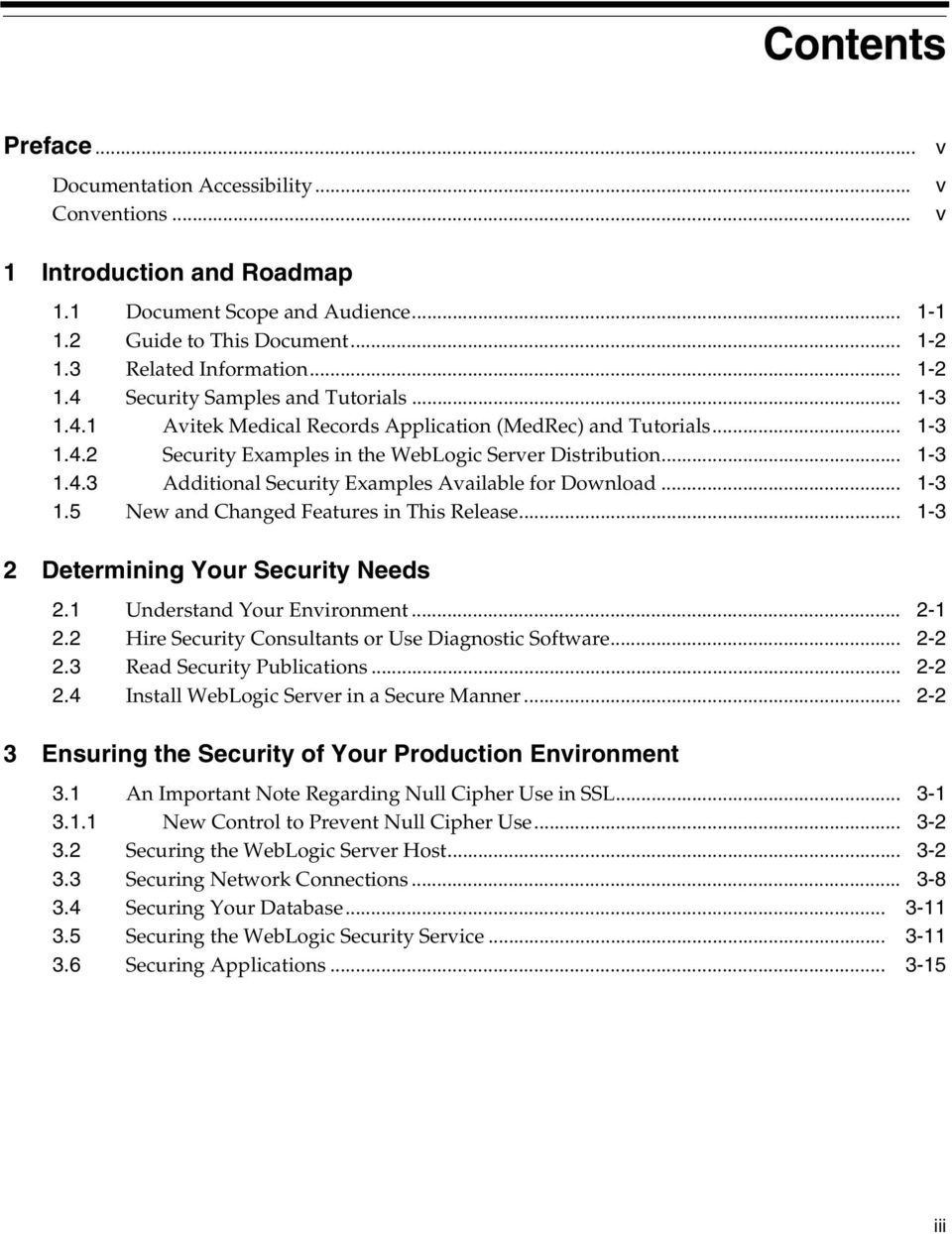 Securing a Production Environment for Oracle WebLogic Server g