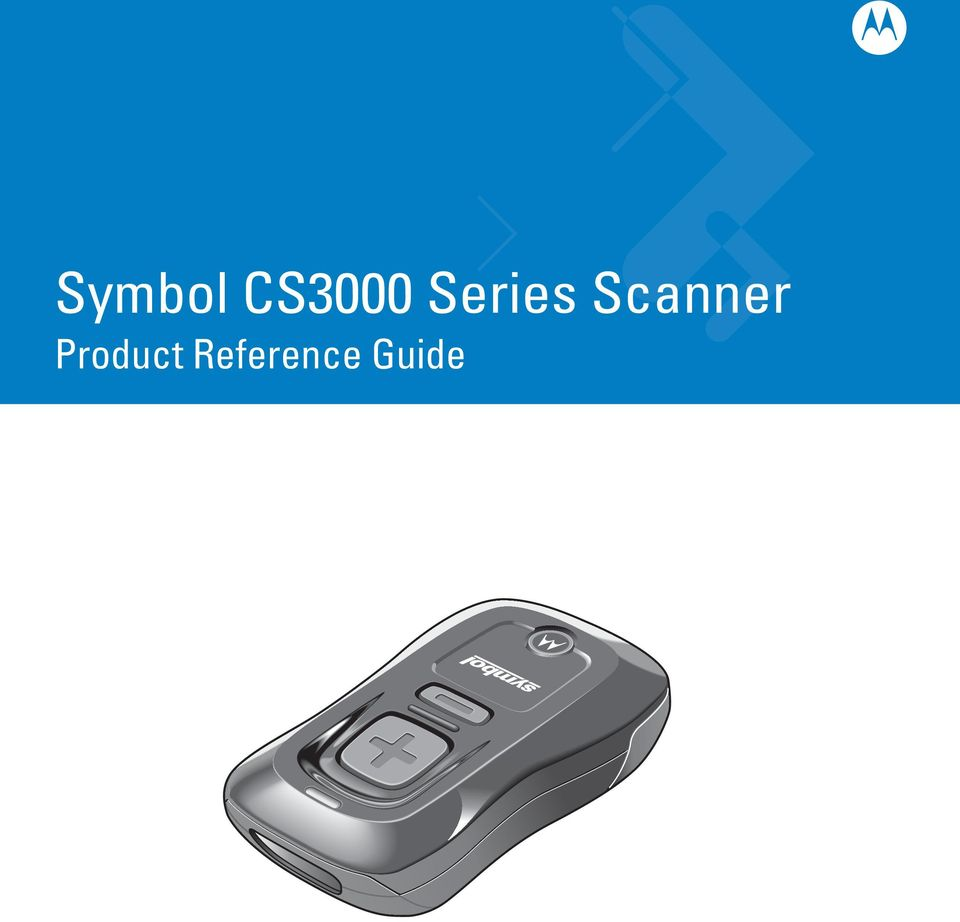 Symbol Cs3000 Series Scanner Product Reference Guide Pdf