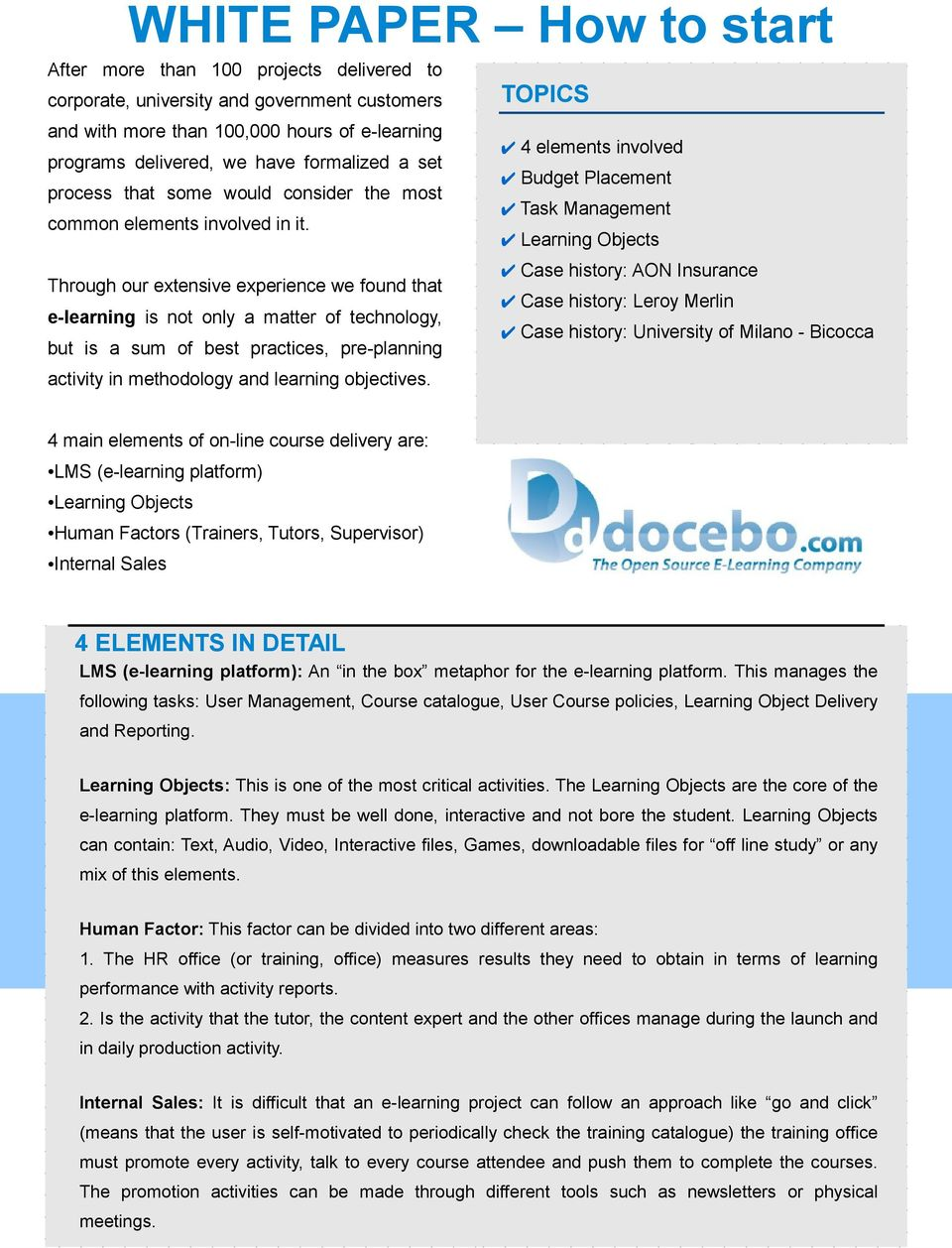 E Learning How To Start Pdf Free Download