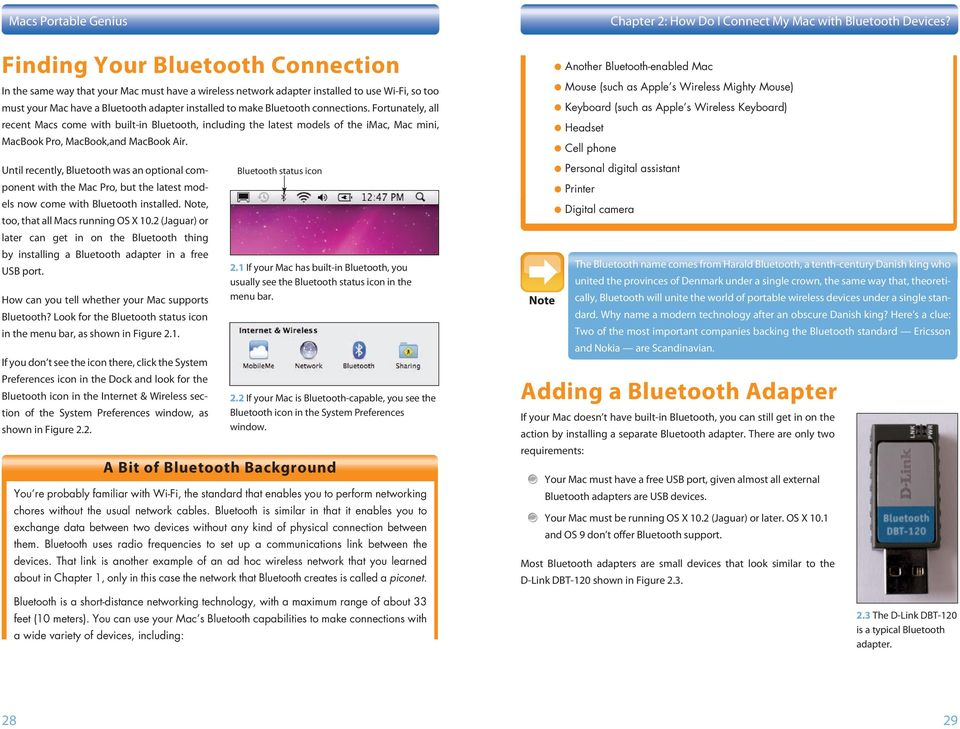 How Do I Connect My Mac with Bluetooth Devices? - PDF