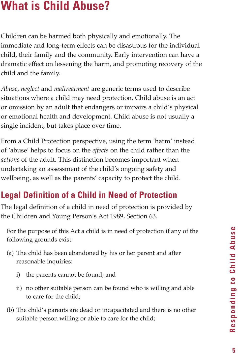 responding to child abuse - pdf
