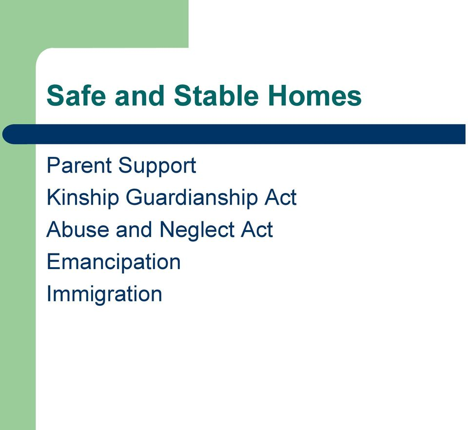 Guardianship Act Abuse and