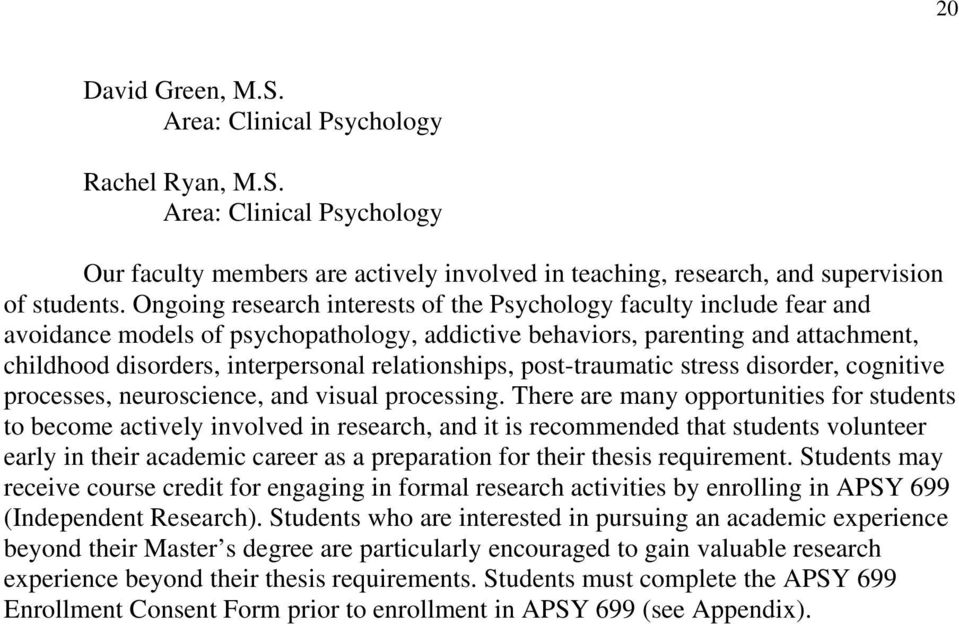 relationships, post-traumatic stress disorder, cognitive processes, neuroscience, and visual processing.