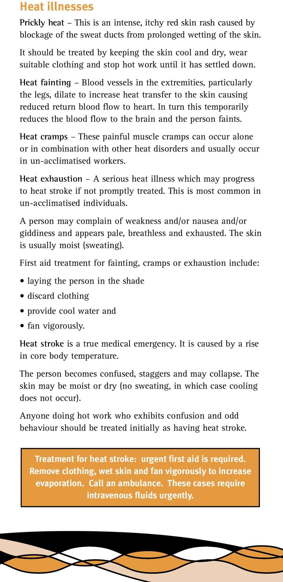 Workplace Health And Safety Queensland Heat Stress Managing The