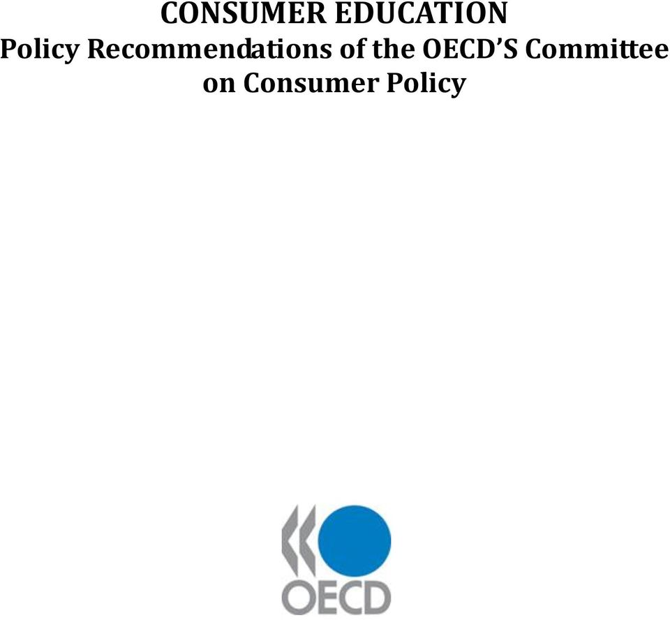 consumer policy toolkit oecd publishing