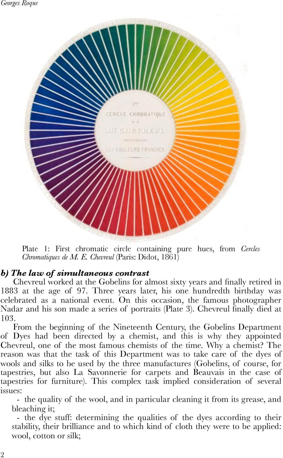 Chevreul S Colour Theory And Its Consequences For Artists Pdf