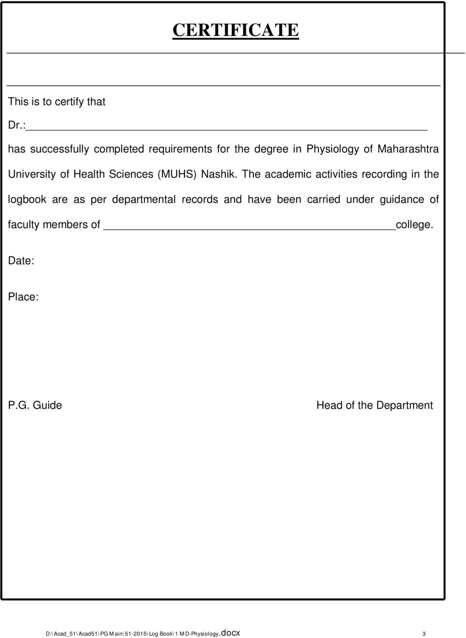 muhs thesis guidelines 2015