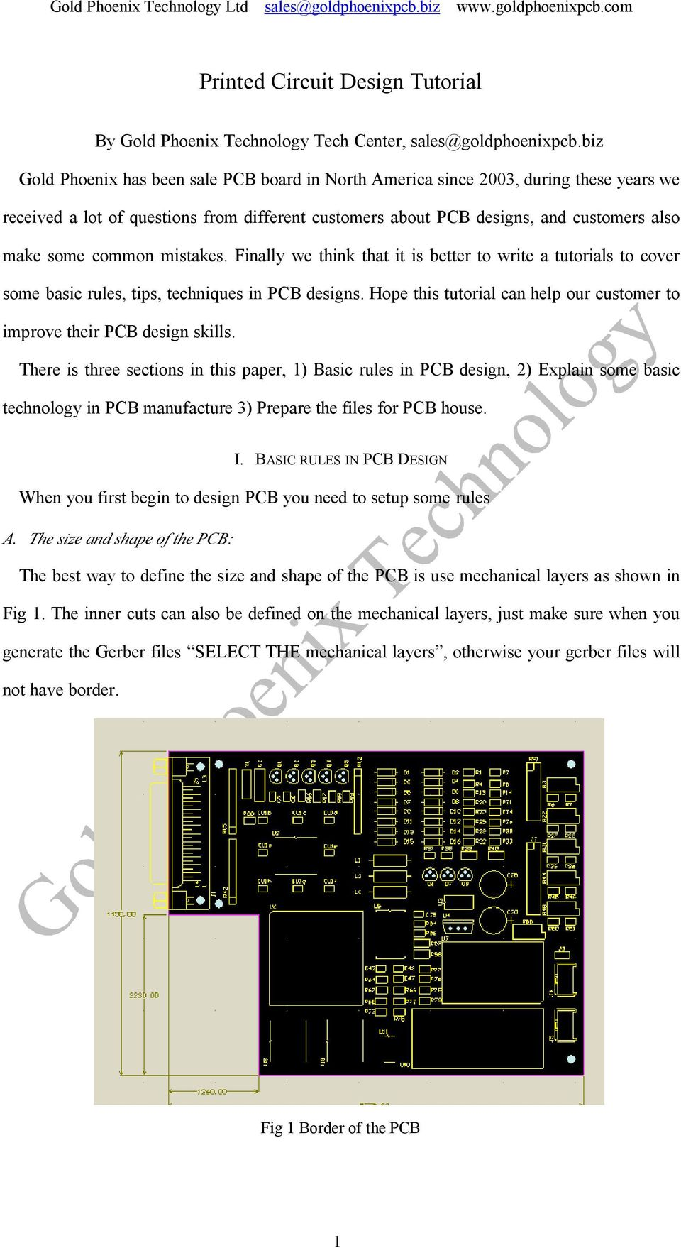 Printed Circuit Design Tutorial Pdf Systems Pcb Board Of 2oz Finished Copper For Sale Mistakes Finally We Think That It Is Better To Write A Tutorials Cover Some
