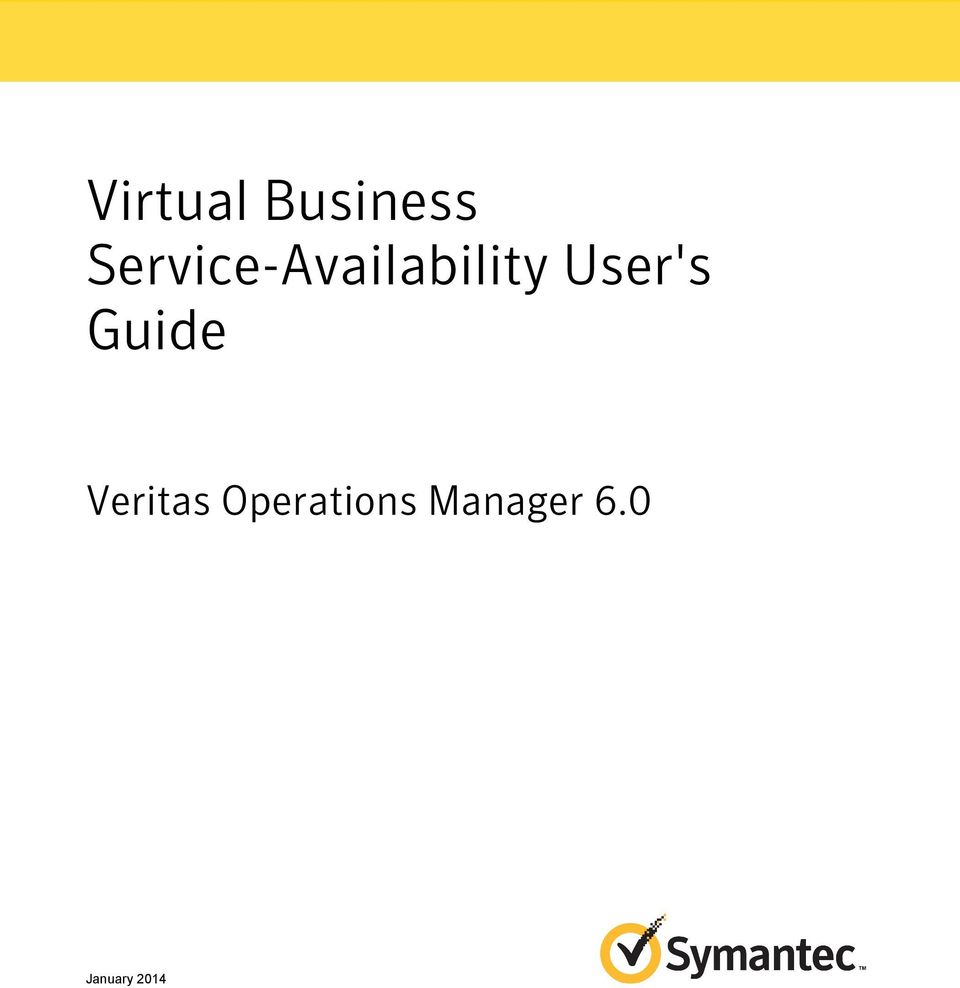 User's Guide Veritas