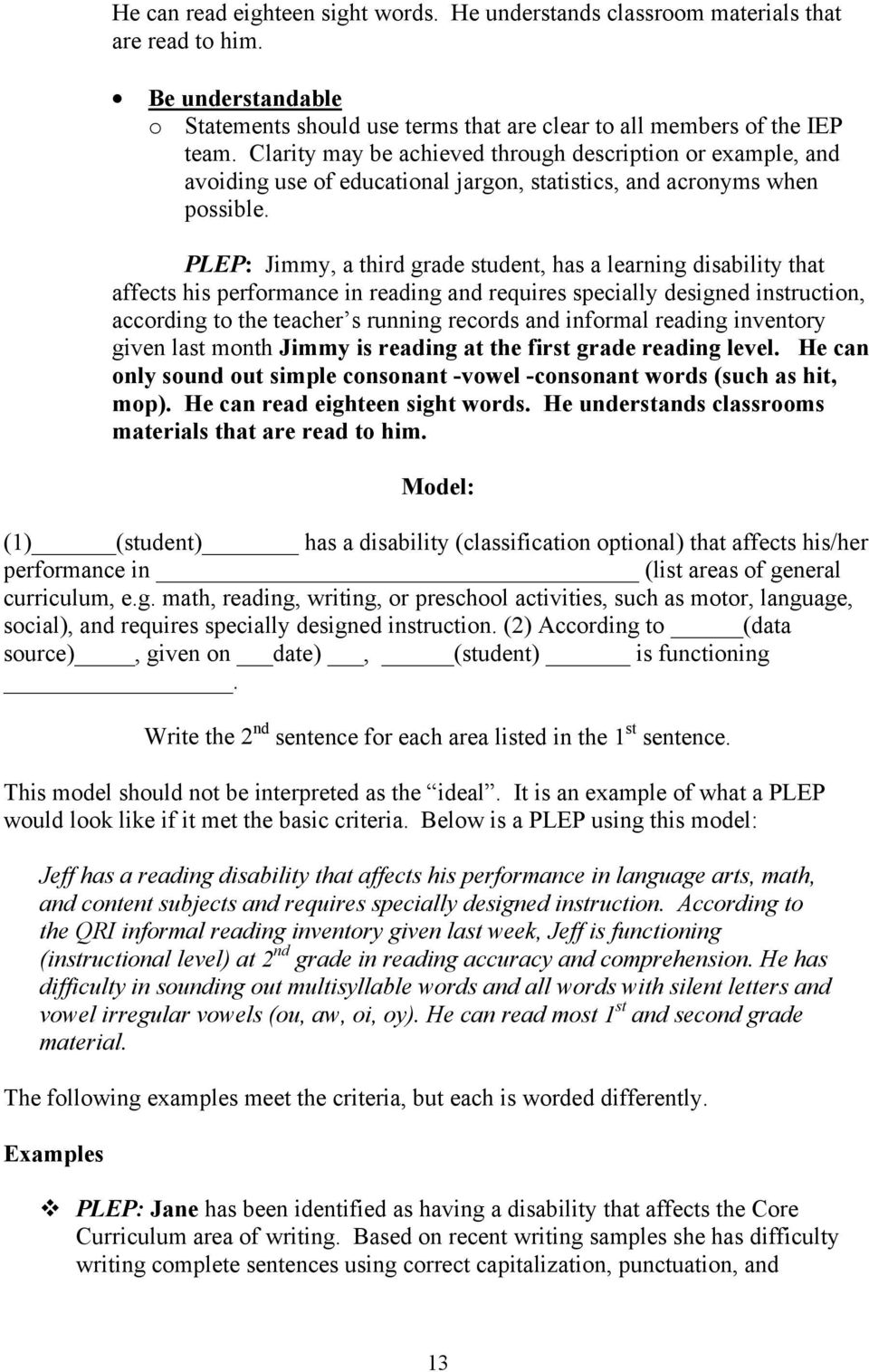 Tools For Writing Standards Based Ieps Pdf Free Download