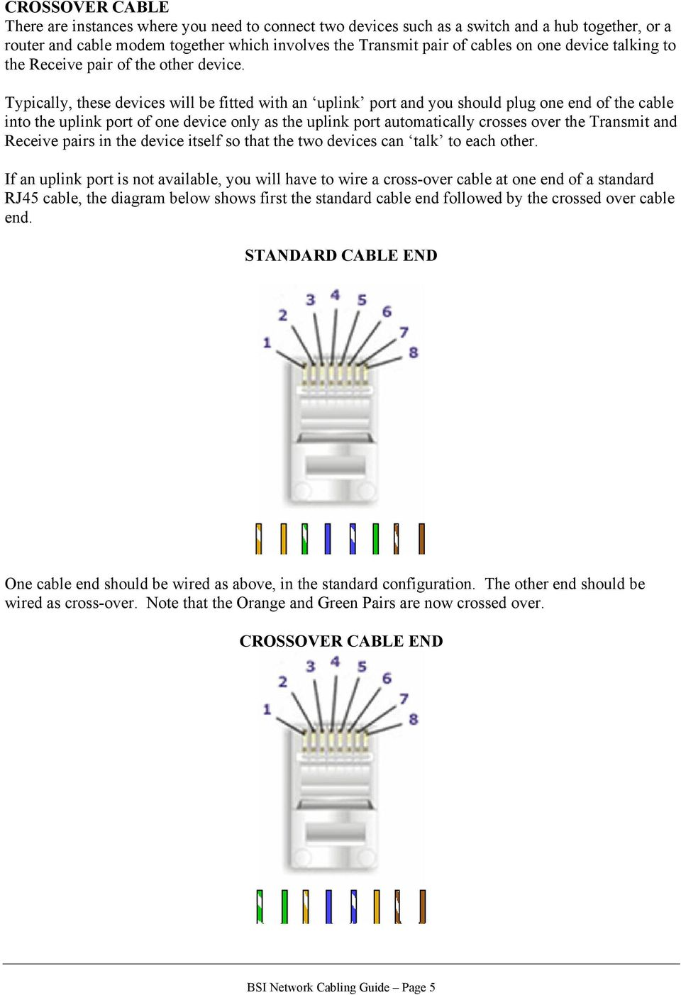 this cabling standard then use the diagram below for the other endThis Cabling Standard Then Use The Diagram Below For The Other End #1