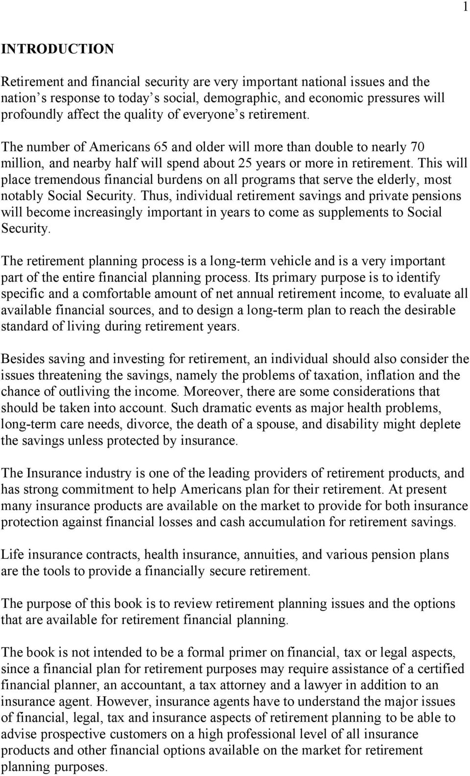 ANNUITIES AND PENSION PLANS - PDF