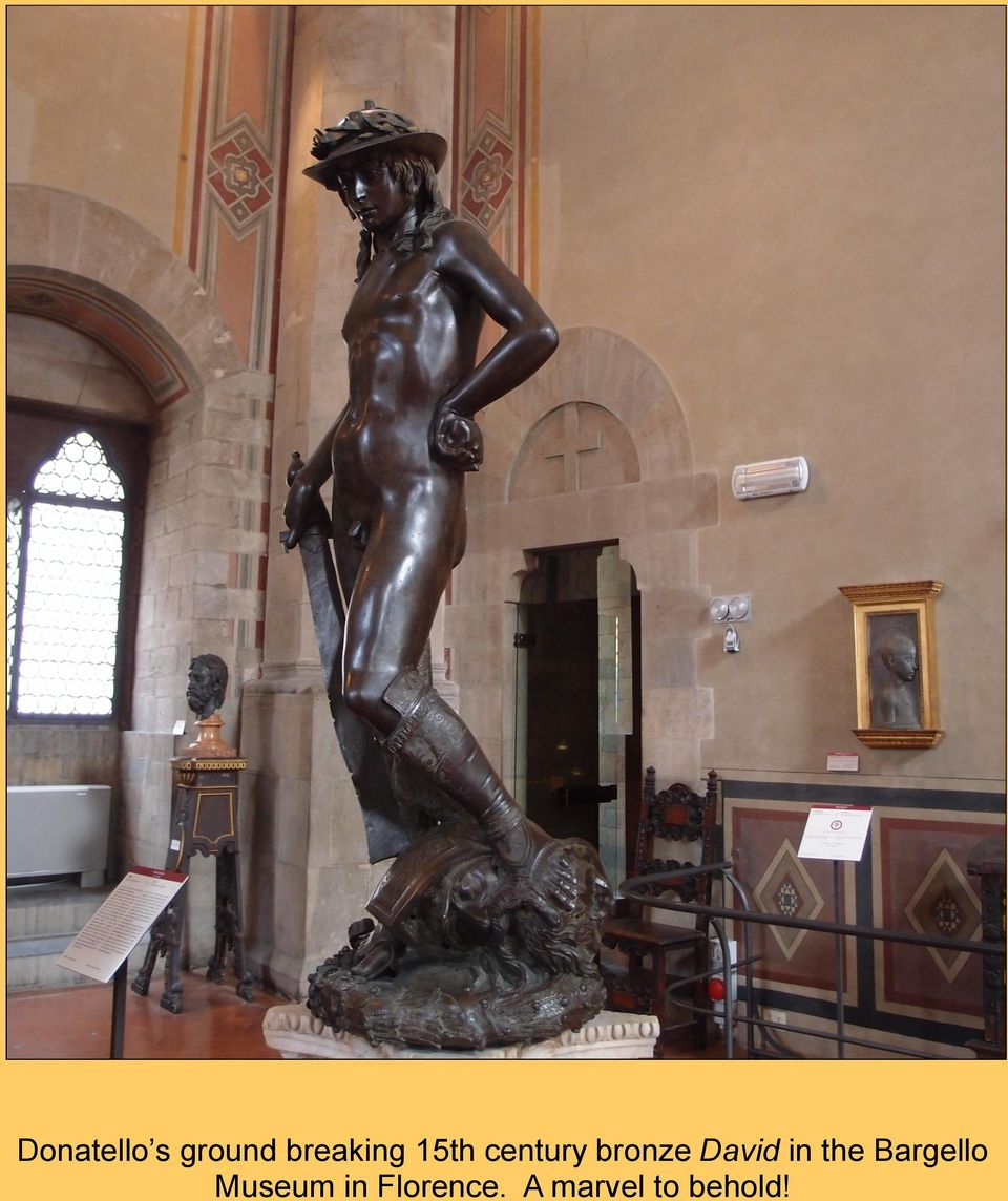 in the Bargello Museum in