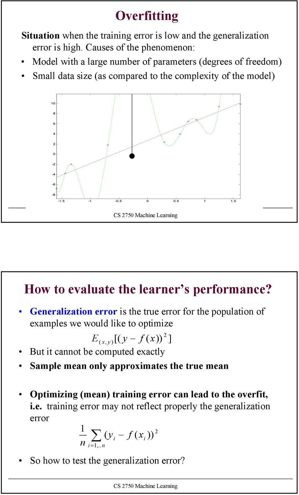 - -.5.5.5 How to evaluate the learner s performance?
