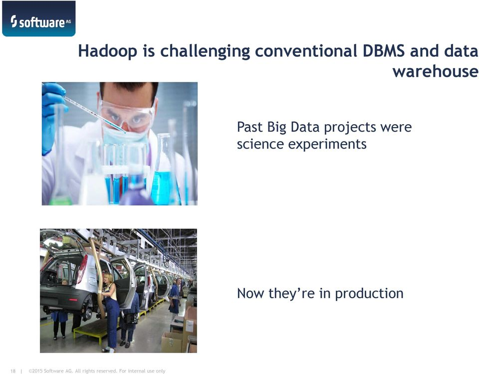 warehouse Past Big Data projects