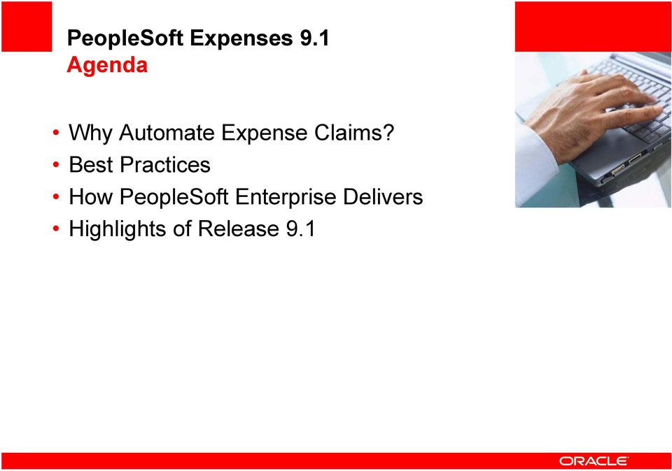 Best Practices How PeopleSoft