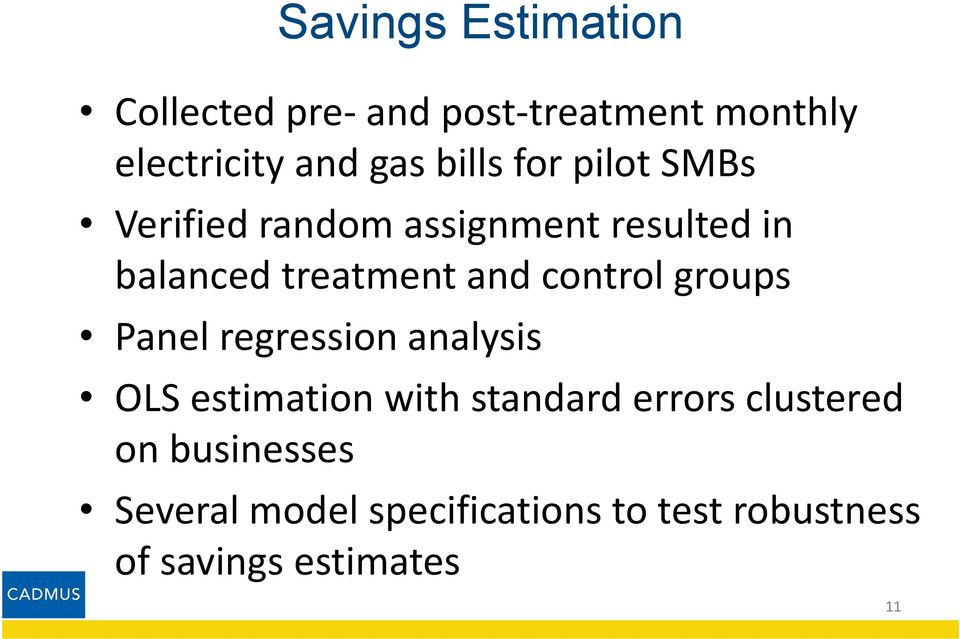 control groups Panel regression analysis OLS estimation with standard errors
