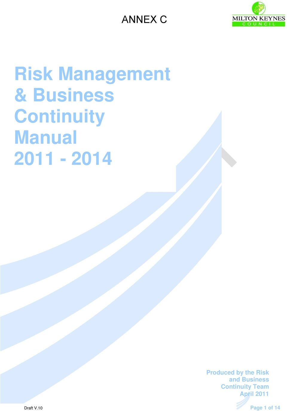 Business Risk and Business Continuity Continuity