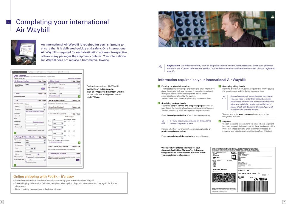 Service Guide  Everything you need to make international