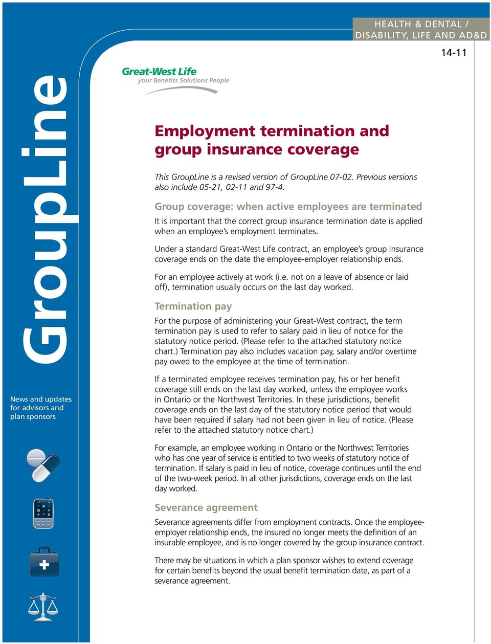 Why Notice Period Is Important   Employment Termination And Group Insurance Coverage Pdf